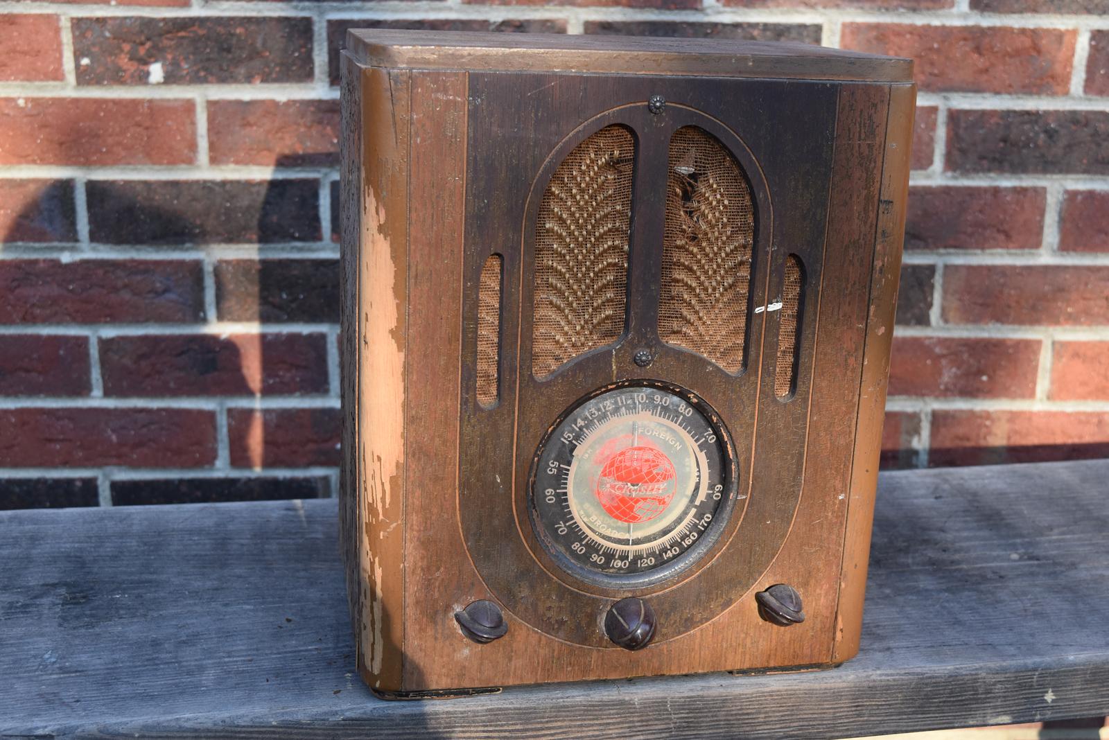 Crosley Radio Fiver Antique Radios Vintage Audio