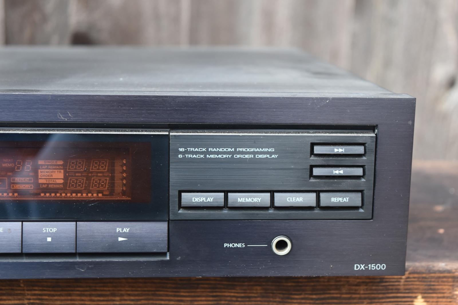 Onkyo Cd Player Dx 1500 Unique Finds Vintage Audio