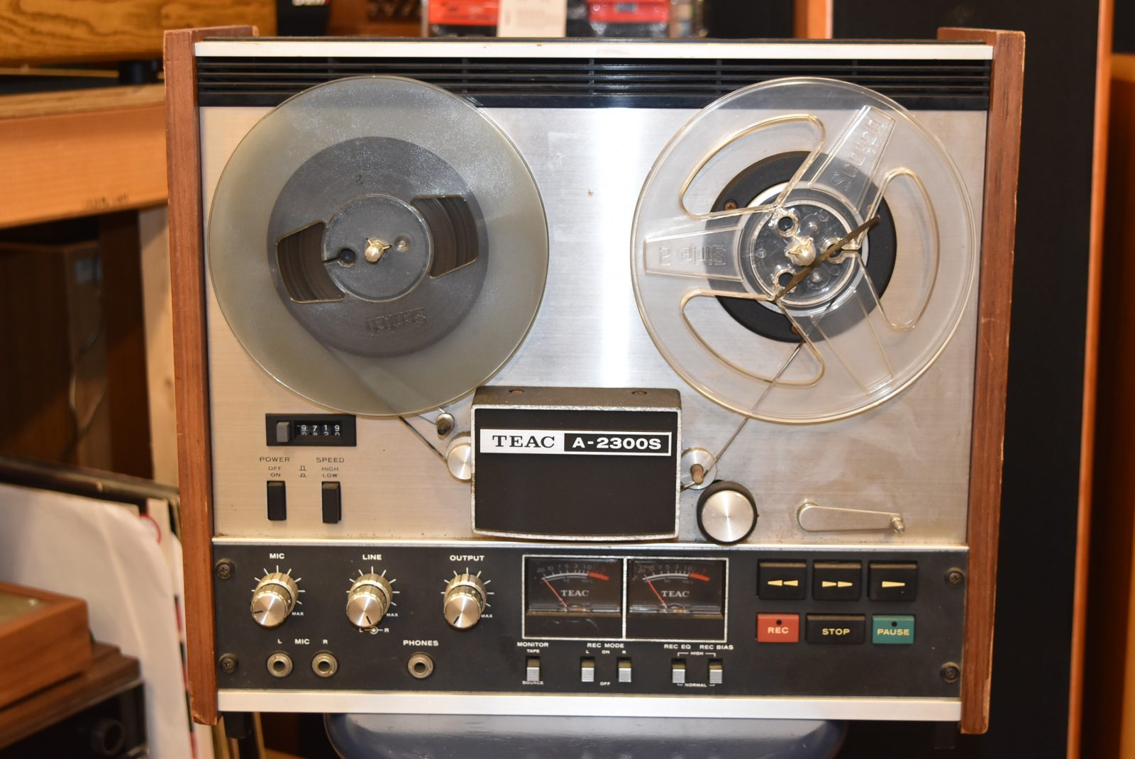 Teac Reel To Reel Deck Model A 2300s Vintage Audio