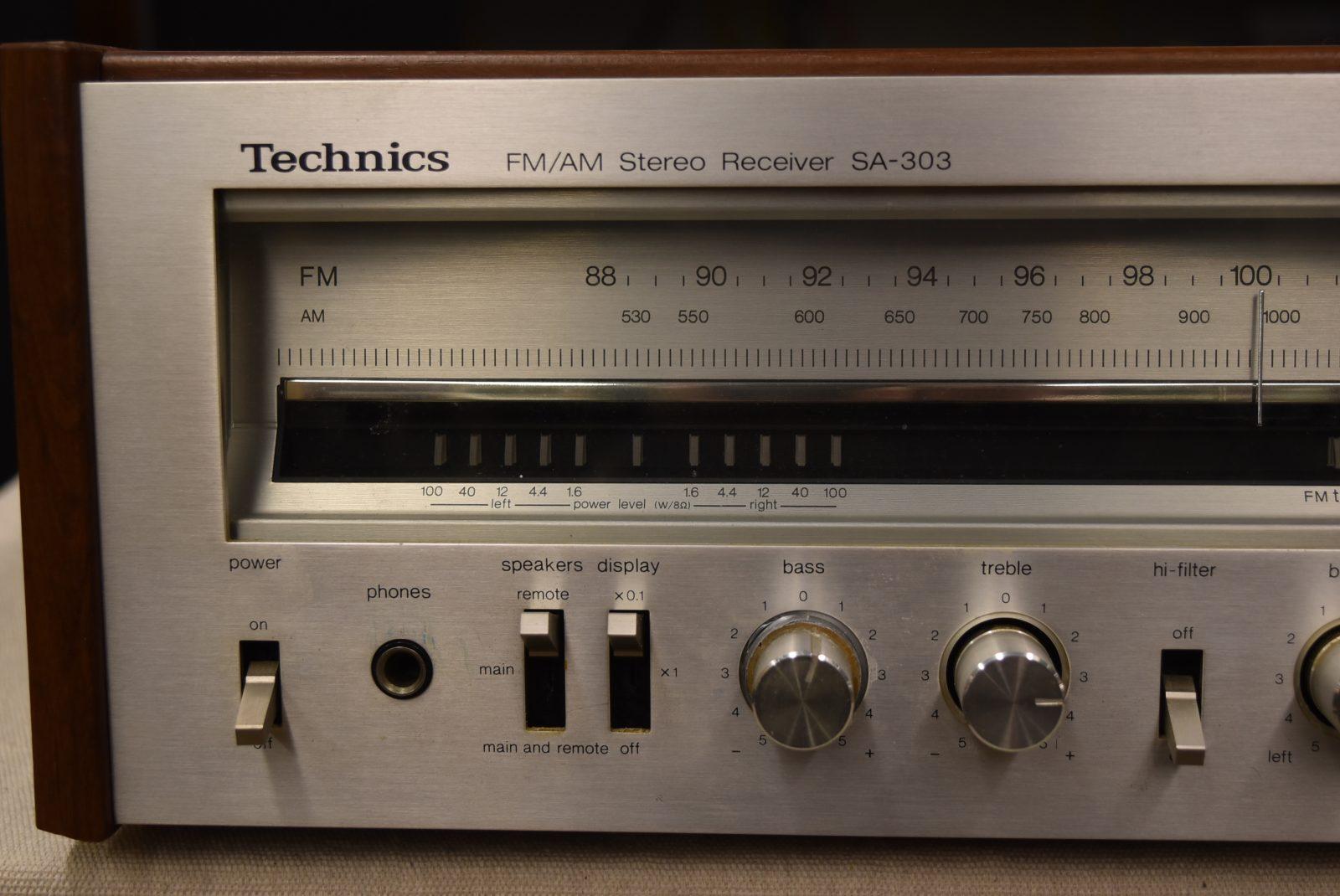 Exchange Service Center >> Technics Receiver - Model: SA-303 | Vintage Audio Exchange